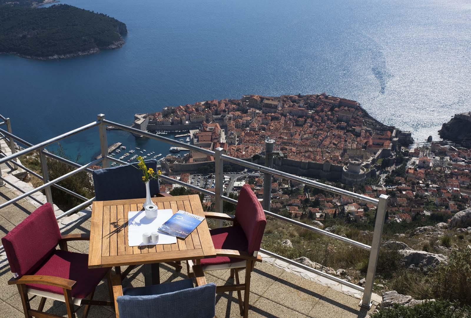 Panorama Restaurant & Bar Dubrovnik | Awake all your senses Floating House In The Sky